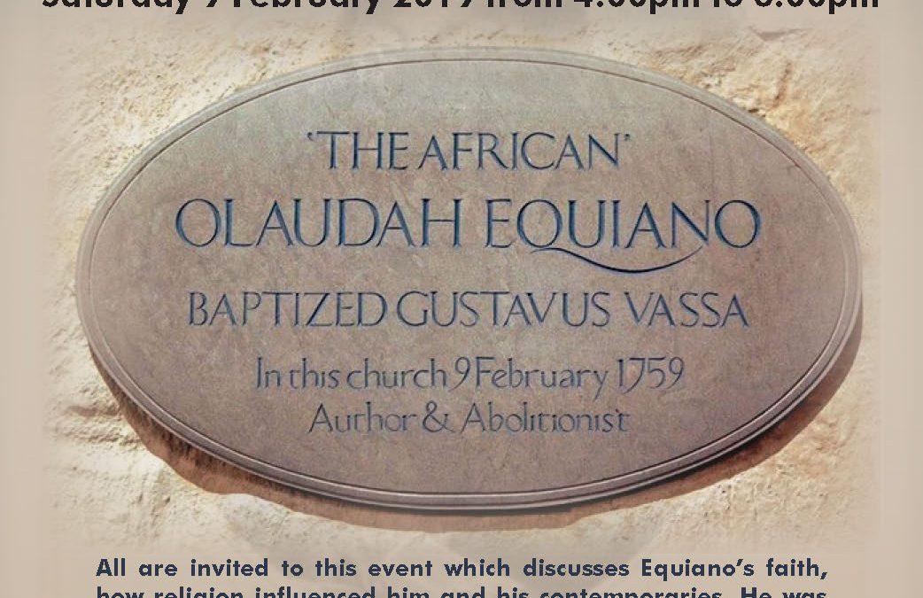 Baptising Equiano 260 Years Ago