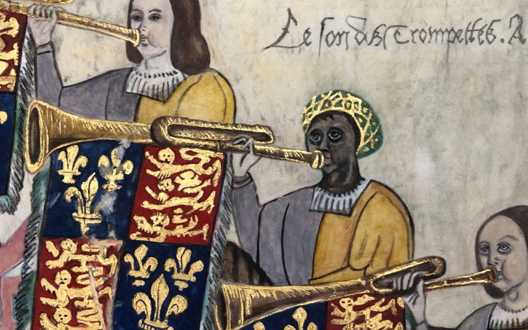 John Blanke The Black Tudor Trumpeter